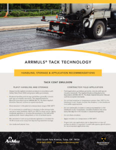 thumbnail of road_science_arrmuls_tack_technology_handling_storage_application_recommendations
